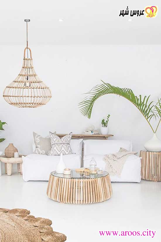 دیزاین سفید برای چیدمان منزل عروس