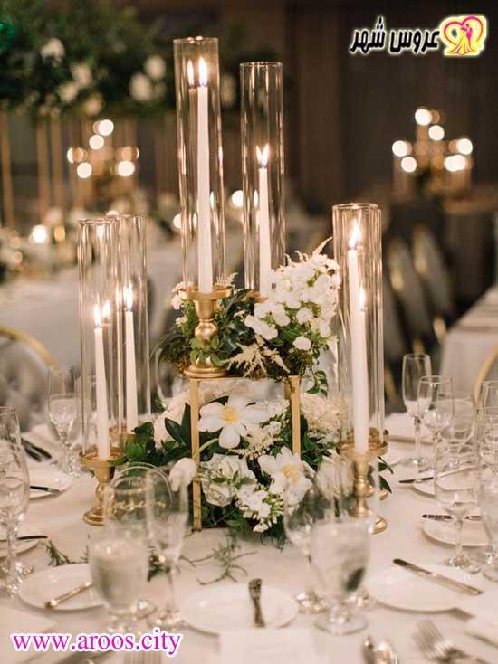 شمع آرایی عروس