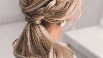 مدل موهای باز برای عروس