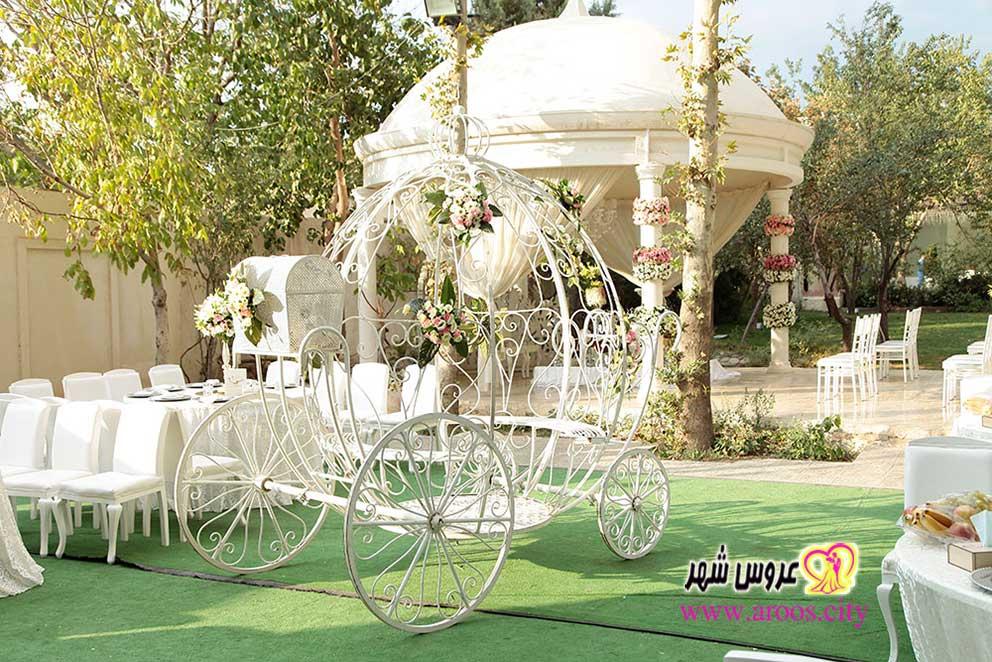 مزایای برگزاری مراسم عروسی در باغ تالار