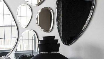 دیزاین منزل عروس همراه با آیینه