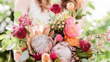 دسته گل جذاب بهاری عروس جدید سال 2020