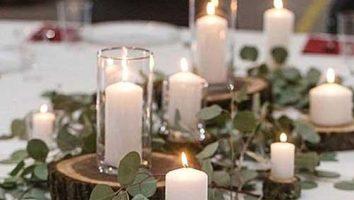 شمع آرایی متناسب جشن عروسی