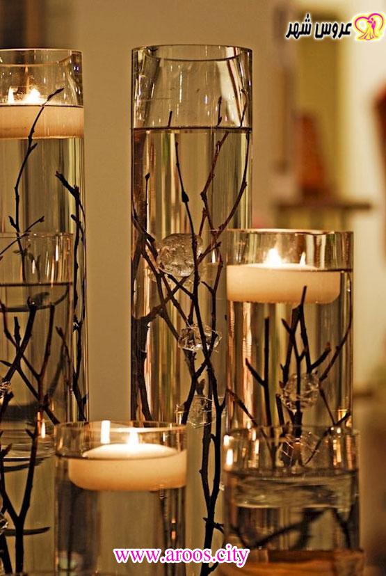 چند ایده تزیینی برای شمع