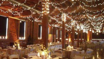 نورپردازی داخلی باغ عروسی