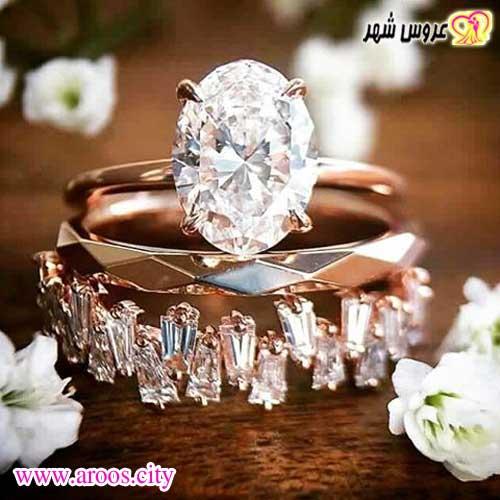 انتخاب حلقه و پشت حلقه عروسی جدید سال 2020