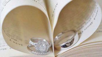 ایده عکاسی از حلقه عروس و داماد