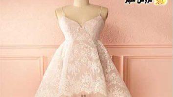مدل لباس عروس کوتاه جدید سال 2020