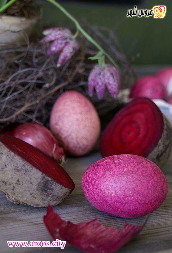 ایده برای تزیین تخم مرغ هفت سین