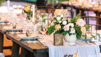 دیزاین مراسم عروسی (نکات مهم )
