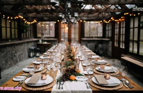 چگونه میز عروسی را جذاب تر تزیین کنیم؟