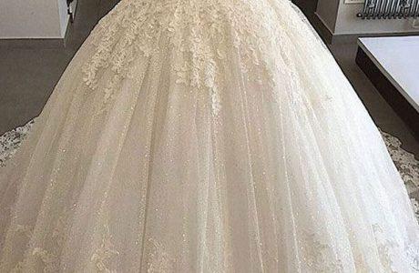 لباس عروس پف دار – پفی