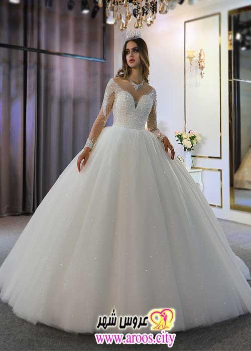 لباس عروس _ 200 مدل از جدیدترین و شیک ترین عکس های سال ۲۰۲۰