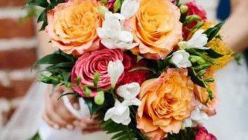 گل متناسب دسته گل عروس: فصل پاییز