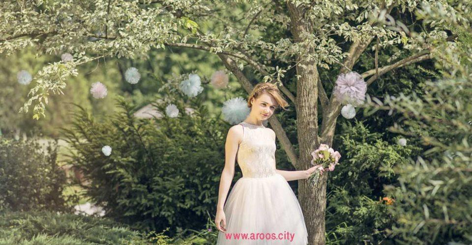 لباس عروس کوتاه جدید 2021