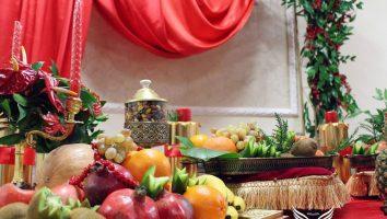 شب یلدا تازه عروس و داماد